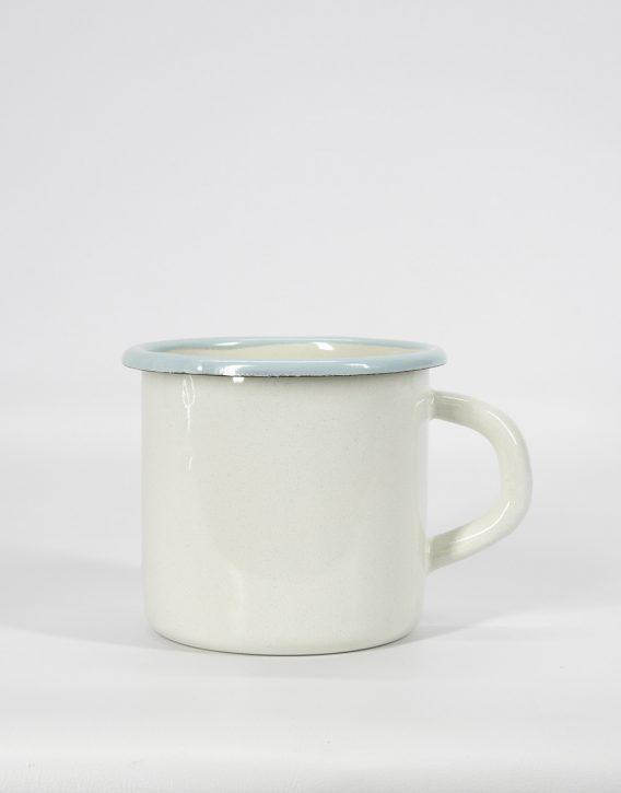 taza de hierro esmaltada