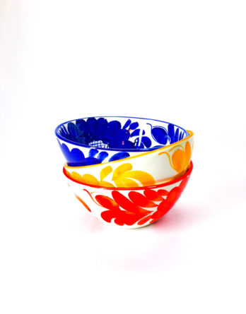 varnished ceramic bowl