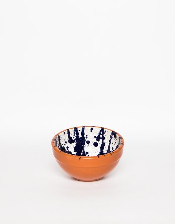 marbled ceramic bowl