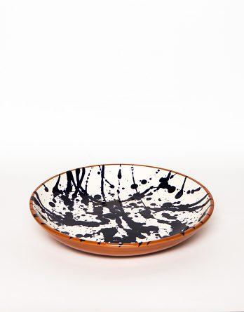 plato ceramica terracota