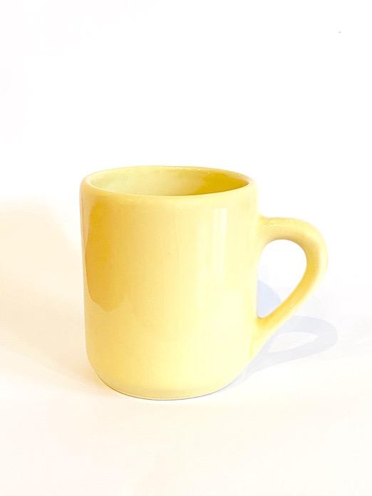 Taza de cerámica beige